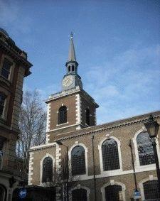 церковь Сент-Джеймс фото Лондон