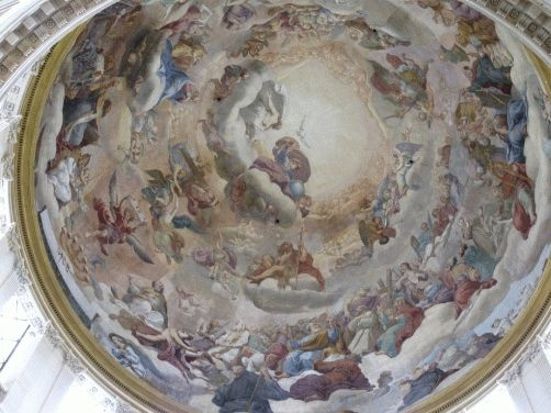 купол валь-де-грас париж фото