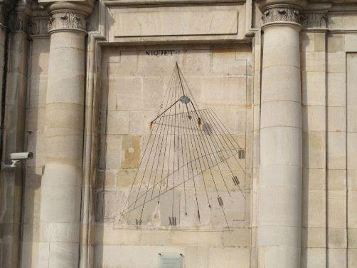 солнечные часы на стене Валь-де-грас фото