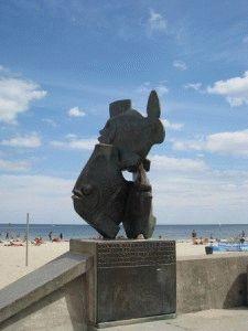 пляжи Гдыни для отдыха с детьми фото