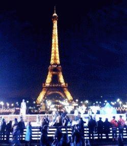 где встречать Новый год в Париже фото