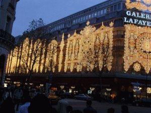 Париж в декабре фото