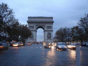Париж в ноябре фото