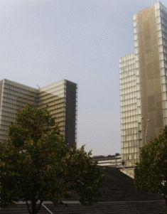 здание библиотеки миттерана париж фото