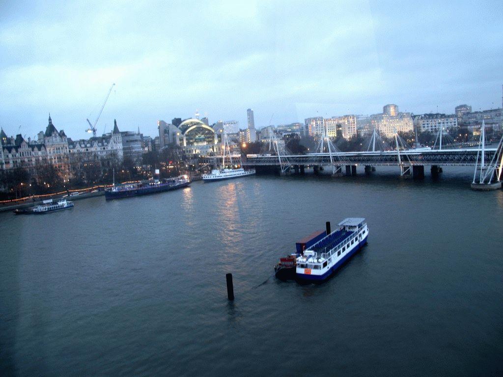 корабль река темза фото