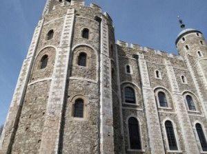 Белая башня Тауэр Лондон фото