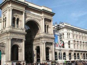 торговая галерея Милан