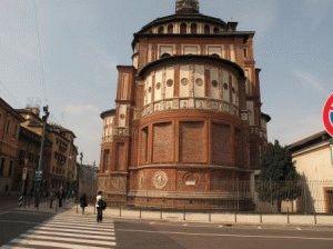 Церковь Санта Мария делле Грацие Милан фото