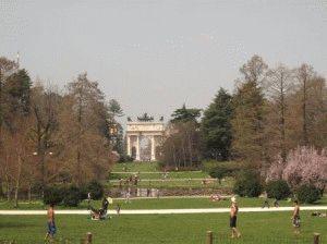 парк Семпионе Милан фото