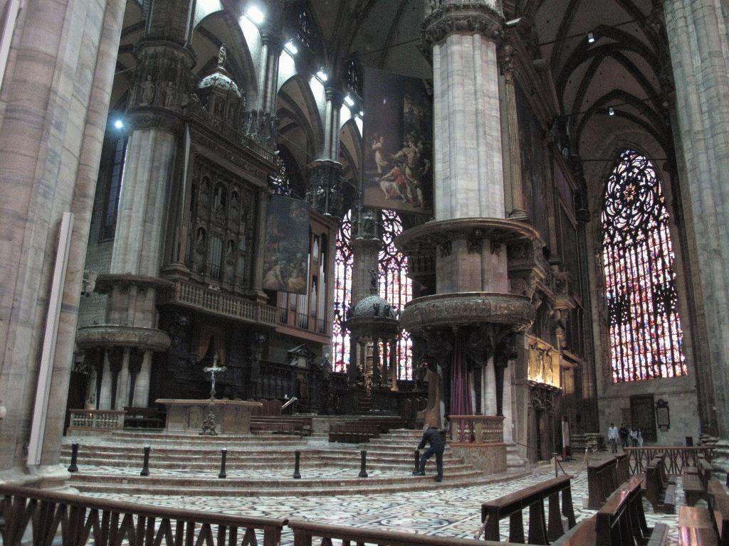 миланский дуомо фото внутри собора