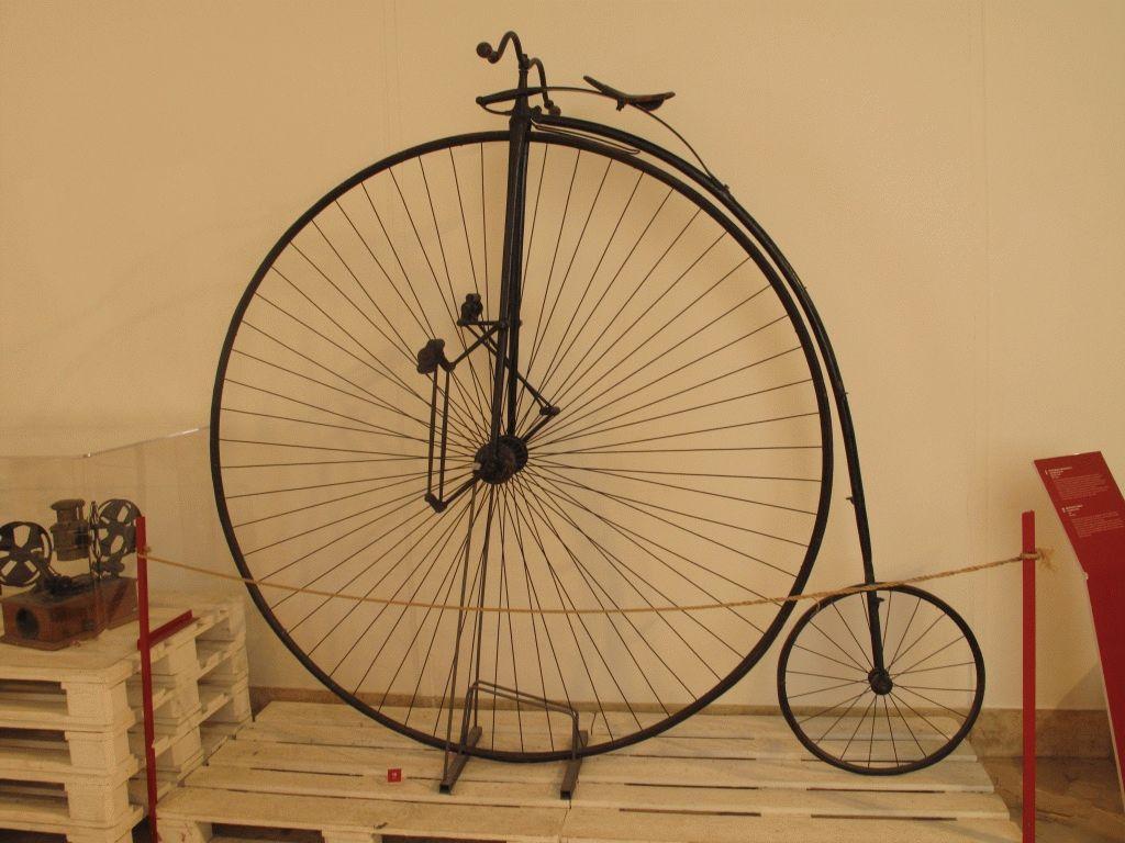милан музей науки техники фото велосипед