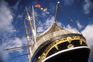 Клиппер Катти Сарк Cutty Sark корабль Британии фото
