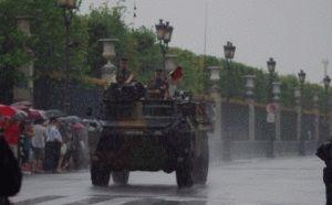 Париж в июле – День взятия Бастилии фото