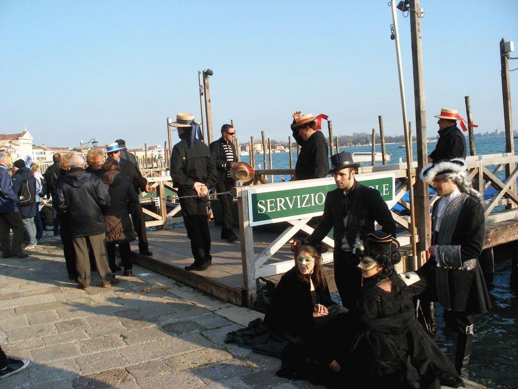 Венецианский карнавал пристань