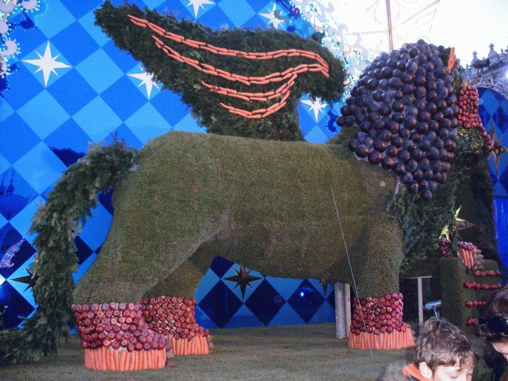 Венецианский карнавал лев