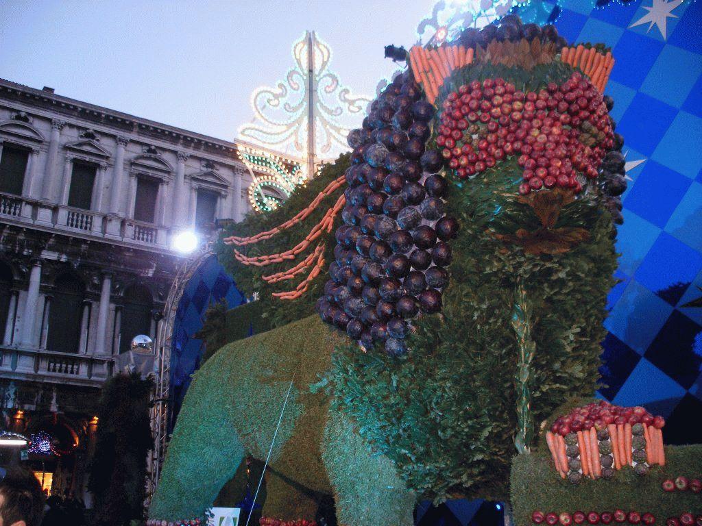 Венецианский карнавал лев фото