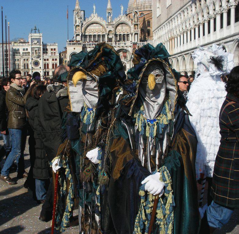 Венецианский карнавал картинка