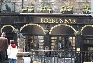 памятник собачке Бобби Эдинбург фото