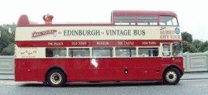 MacTours City Tour экскурсионный автобус Эдинбург фото