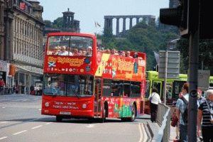 Туристический экскурсионный автобус в Эдинбурге билет