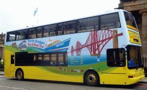 двухэтажный автобус эдинбург фото