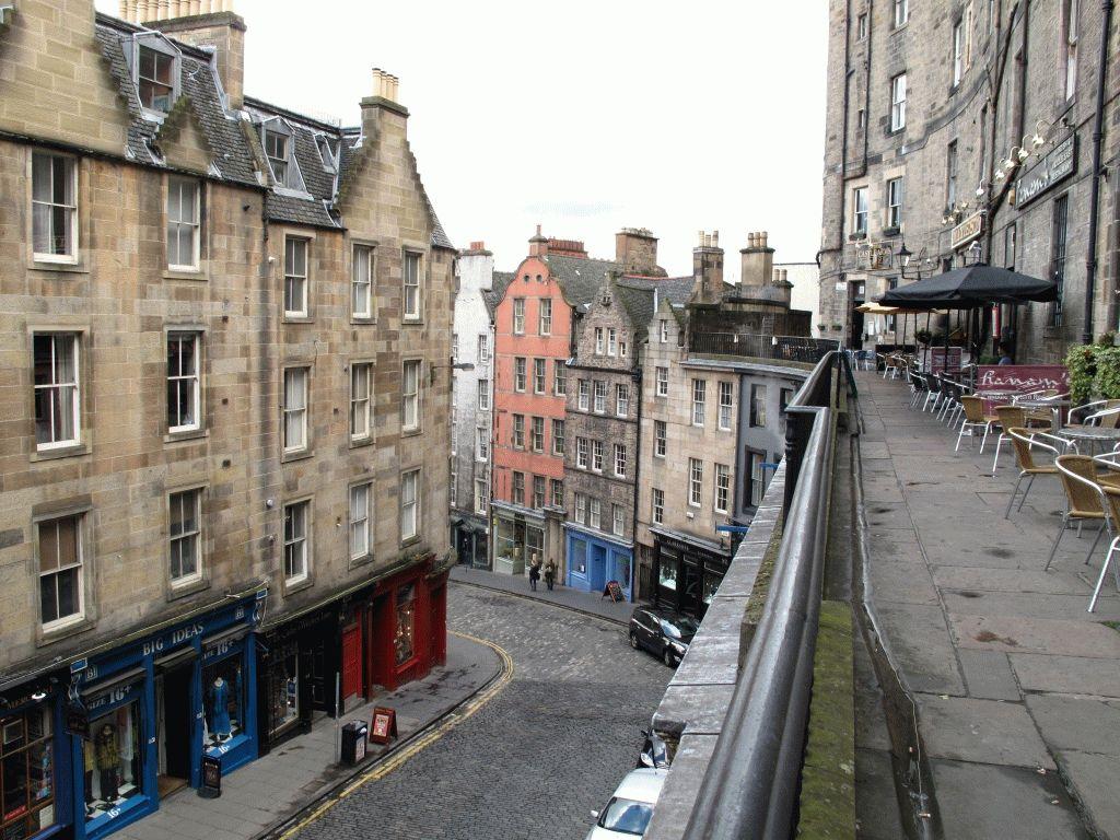 Эдинбург Виктория террас фото