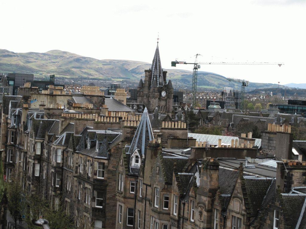 столица шотландии фото