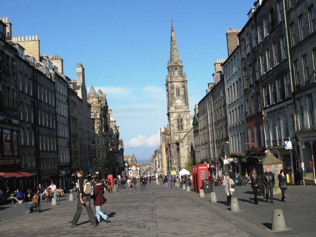 Эдинбург королевская миля фото