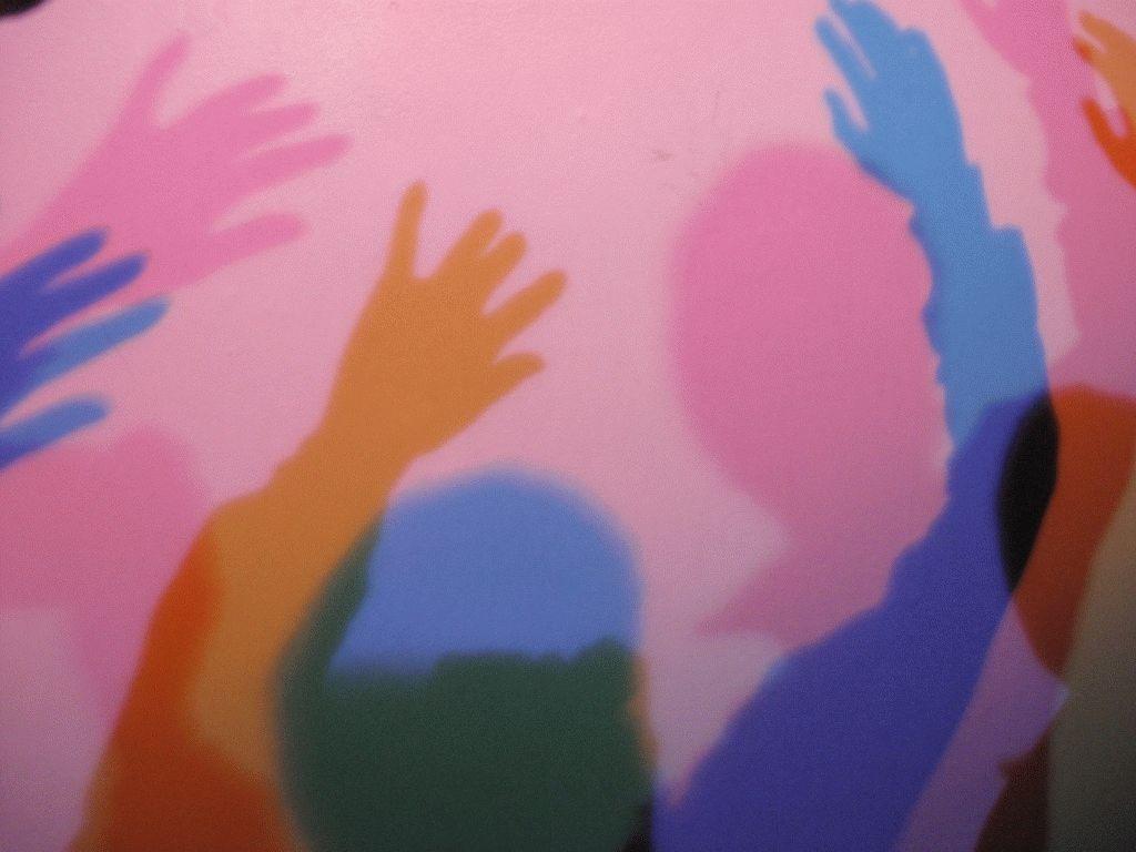 разноцветная тень фото