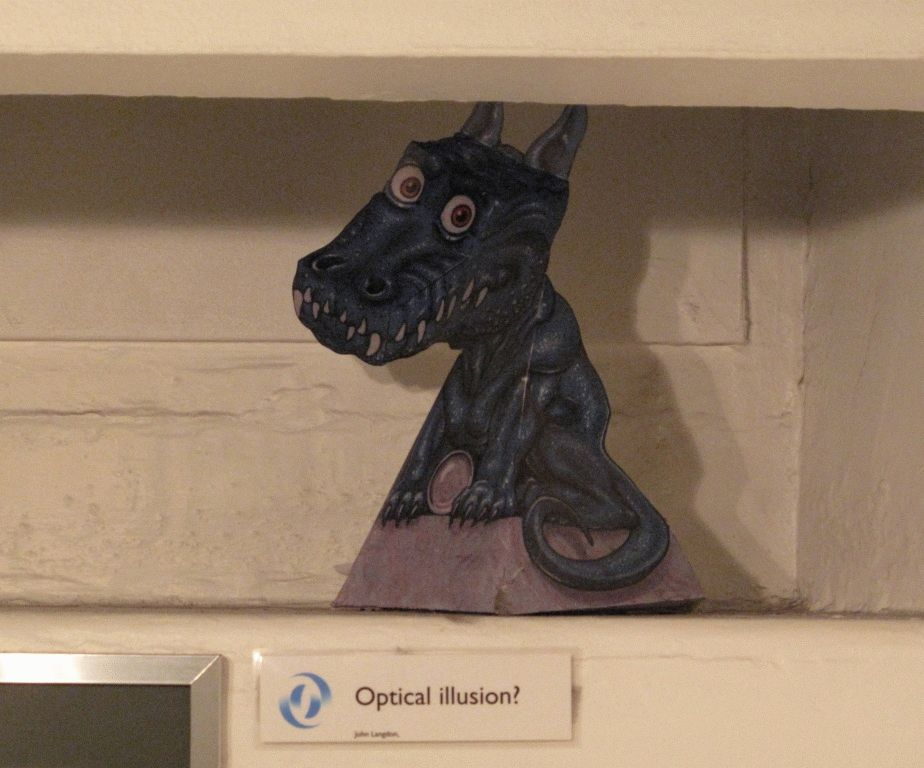 следящий дракон музей эдинбург фото