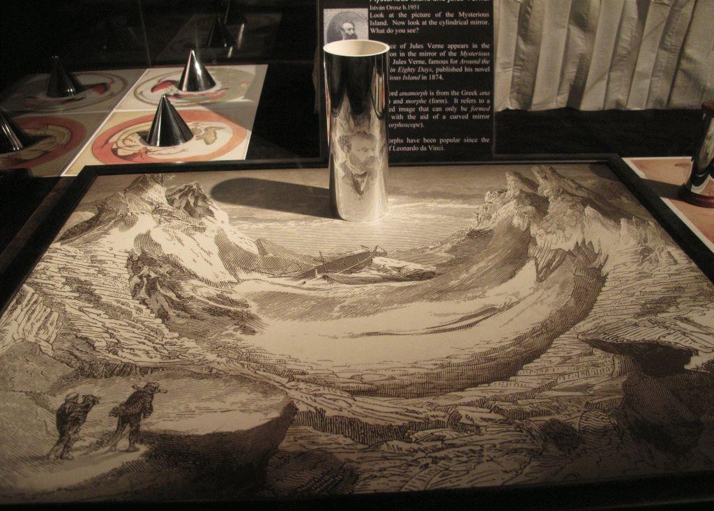 фокусирование картинки музей мир иллюзий эдинбург фото