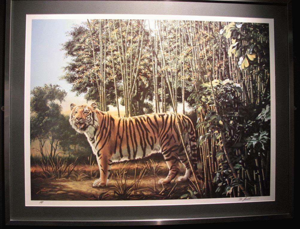где спрятан тигр фото