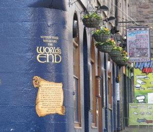 Паб Конец света Эдинбург фото
