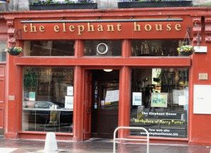 кафе Elefant House место рождения Гарри Поттера фото