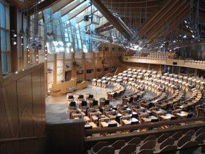Парламент Шотландии Эдинбург фото