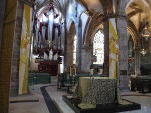 Собор Святого Джайлса внутри фото Эдинбург
