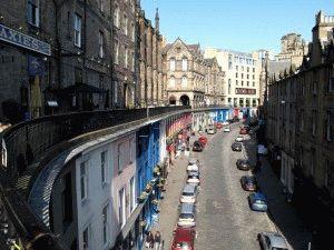 Виктория стрит Эдинбург фото