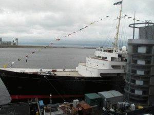 королевская яхта Британия фото