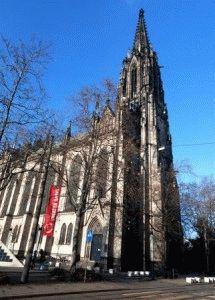 Церковь святой Елизаветы Elisabethenkirche Базель фото
