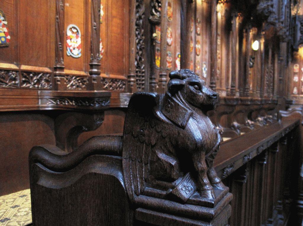 резьба в соборе святого джайлза эдинбург фото