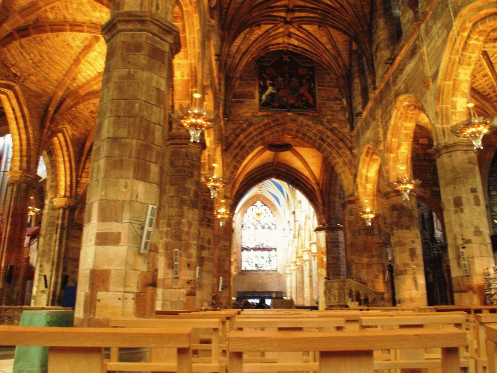 внутри собора святого жиля эдинбург фото