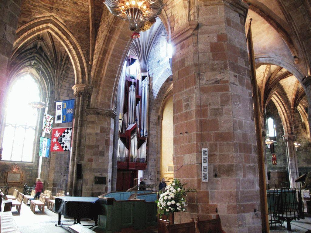 эдинбургский собор фото внутри