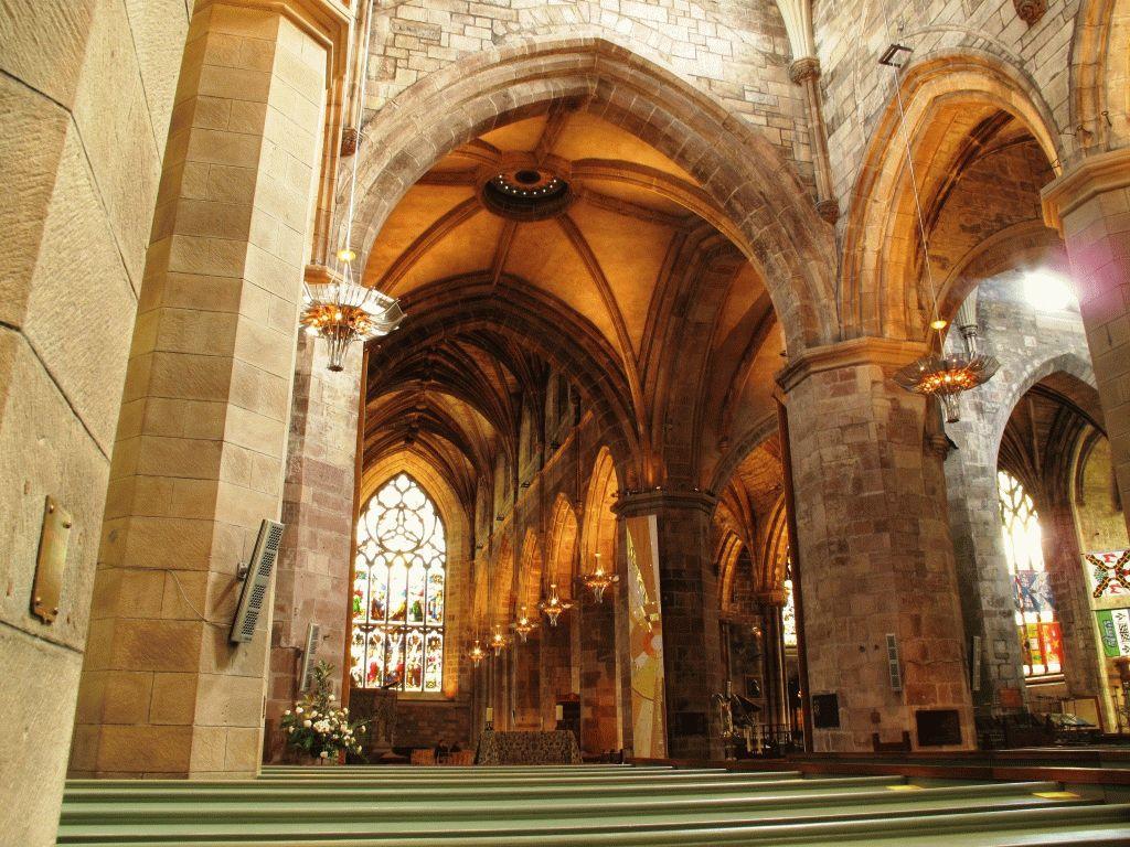 внутри собора св жиля эдинбург фото