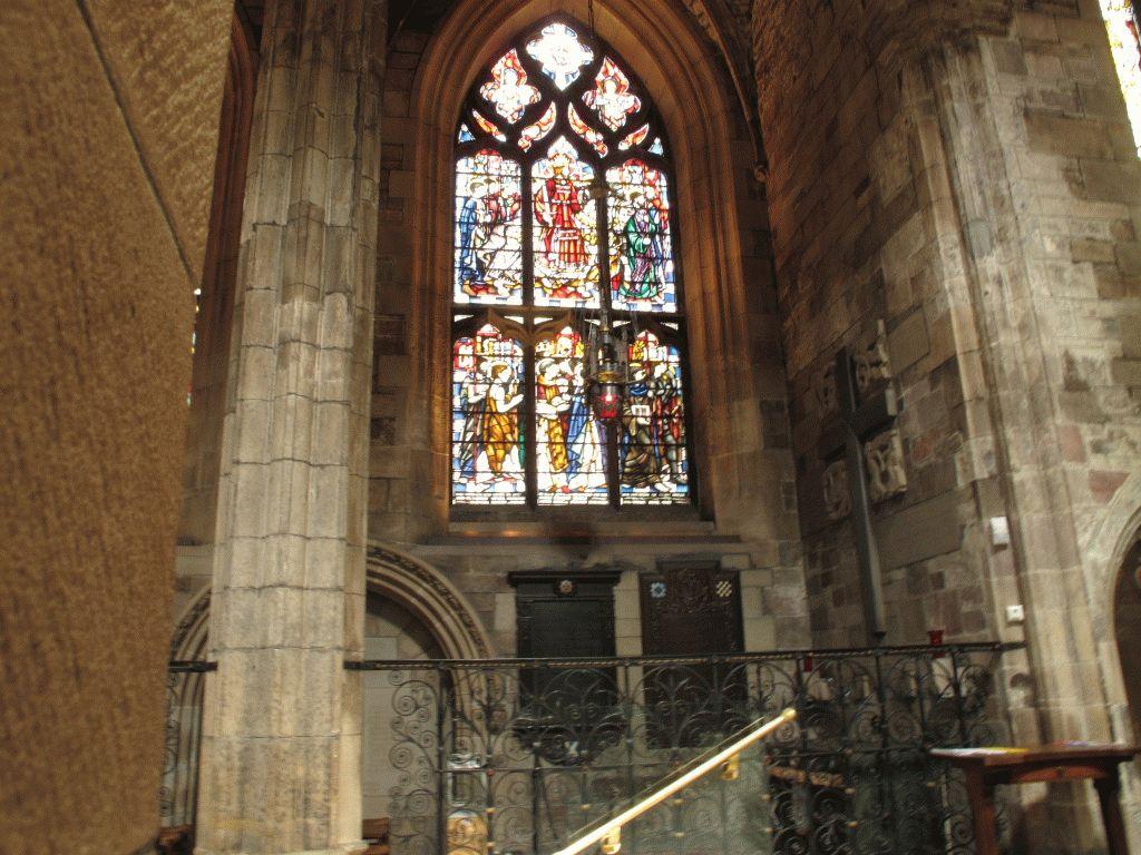 витраж собор эдинбург фото