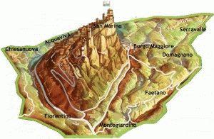 карта сан-марино картинка