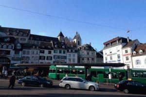 Город Базель Швейцария фото