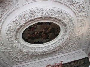 фото потолка дворец Холируд Эдинбург