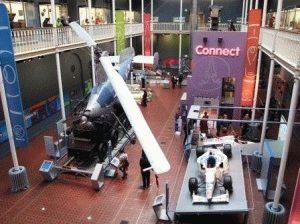 игровой зал Connect в Музее Шотландии фото