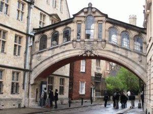 Мост Вздохов Оксфорд фото