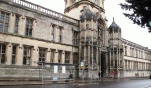 Колледж КрайстЧерч Christ Church Оксфорд фото